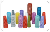 Perforated Cone and Tube