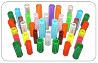 Textile Plastic  Perforated tubes